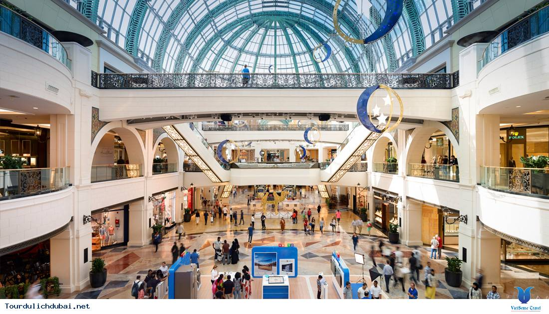 """Những khu thương mại cực """"khủng"""" ở Dubai"""