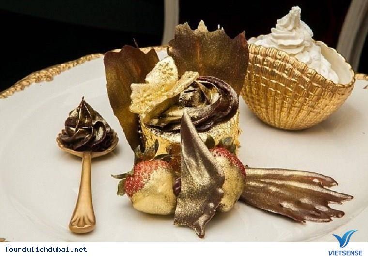 """Những món ăn đắt xắt ra miếng cho """"đại gia"""" ở Dubai - Ảnh 2"""