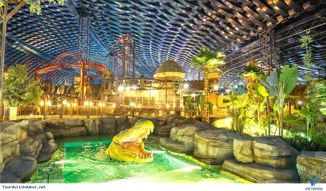 Quên đường về trong công viên giải trí trong nhà lớn nhất thế giới ở Dubai - Ảnh 2