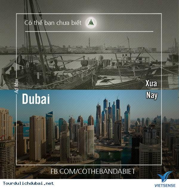 Thành phố Dubai xưa và nay,thanh pho dubai xua va nay