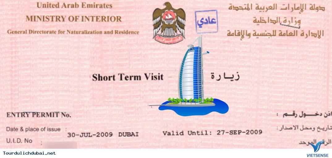 Tìm hiểu một số loại visa du lịch tại Dubai - Ảnh 2