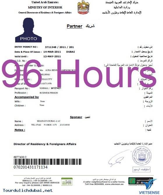 Tìm hiểu một số loại visa du lịch tại Dubai - Ảnh 1