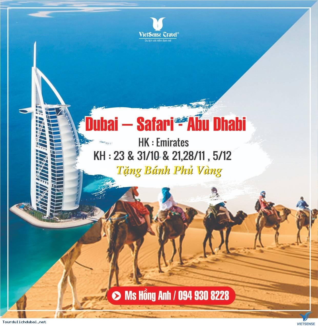 TOUR HÀ NỘI - DUBAI - ABU DHABI | Bay 5* + Nghỉ 4*